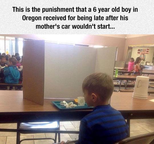 Someone Should Talk To This Principal