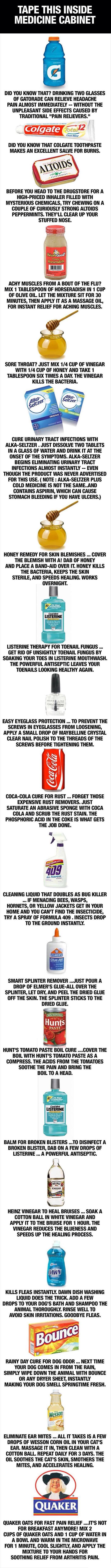 cool-medicine-cabinet-Gatorade-Coke-honey