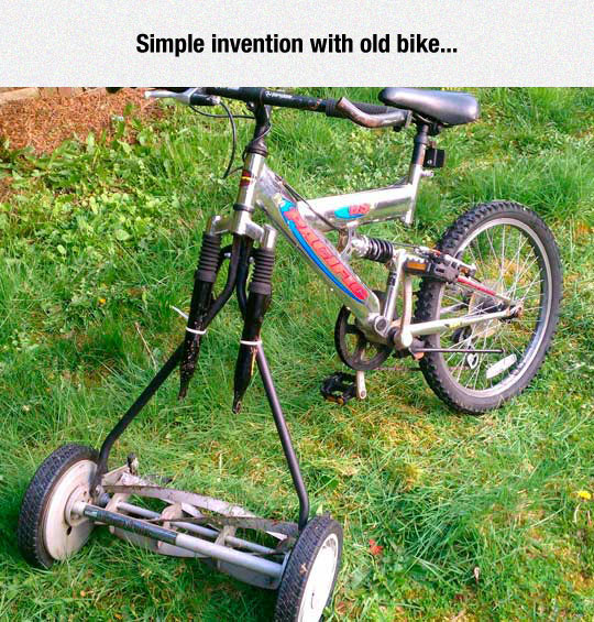 cool-old-bike-lawn-mower-invention