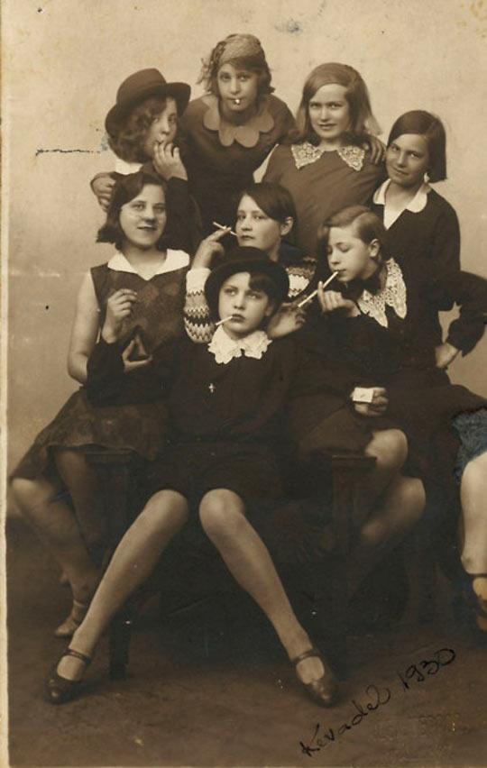 Badass Girls, Taken In 1930