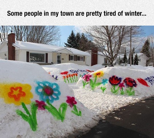 Getting Tired Of Winter