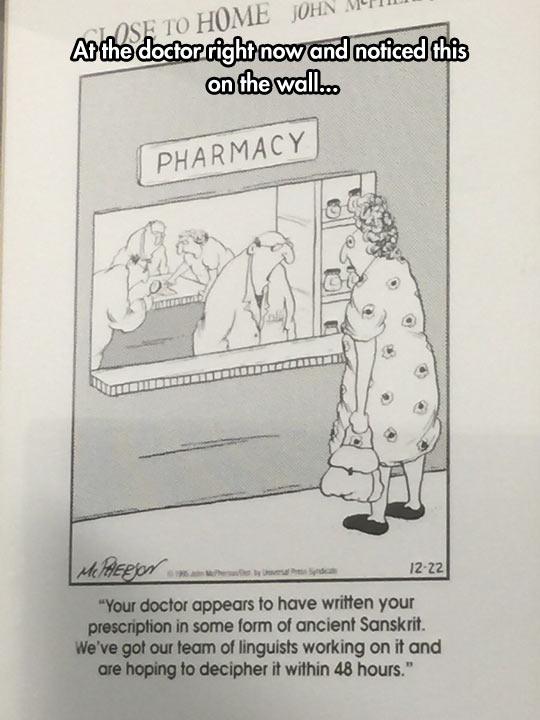 The Handwriting Of Doctors