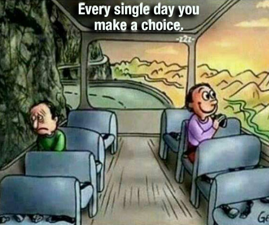 Being Happy Is A Choice
