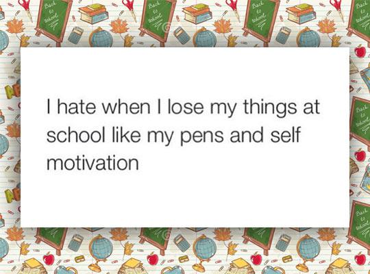 I Keep Losing My Things