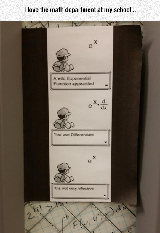 Math Department Humor