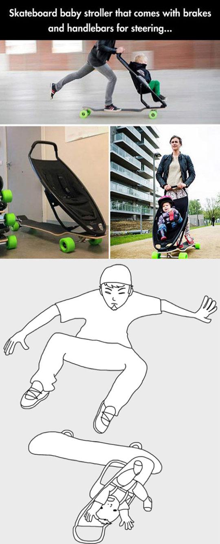 cool-skateboard-design-stroller