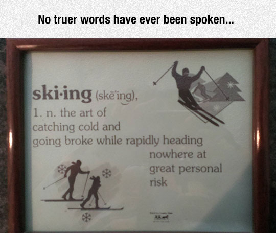 Definition Of Skiing