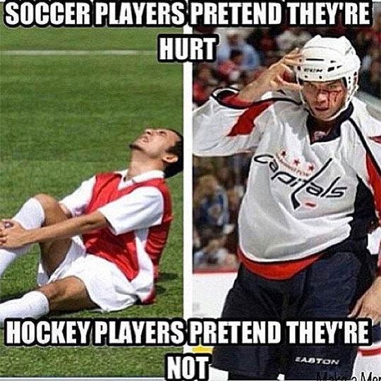 cool-soccer-hockey-players-injure-acting