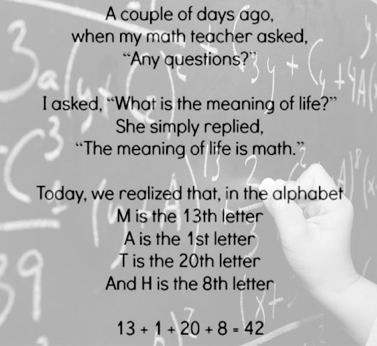 cool-teacher-question-meaning-life