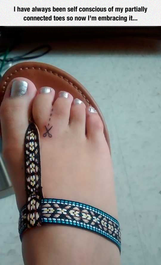 Connected Toes