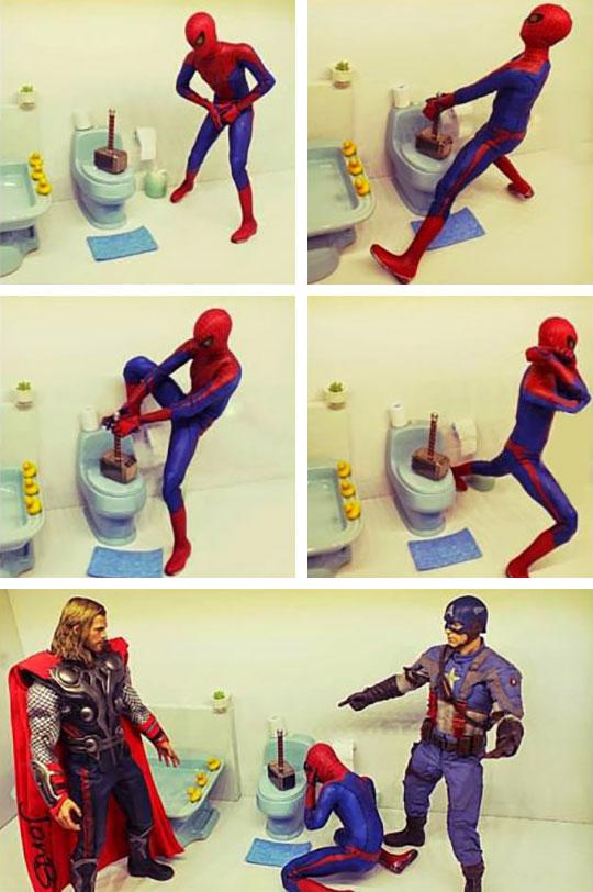 Thor Having Fun