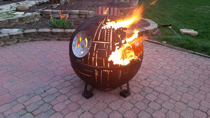 fired up the Death Star last night