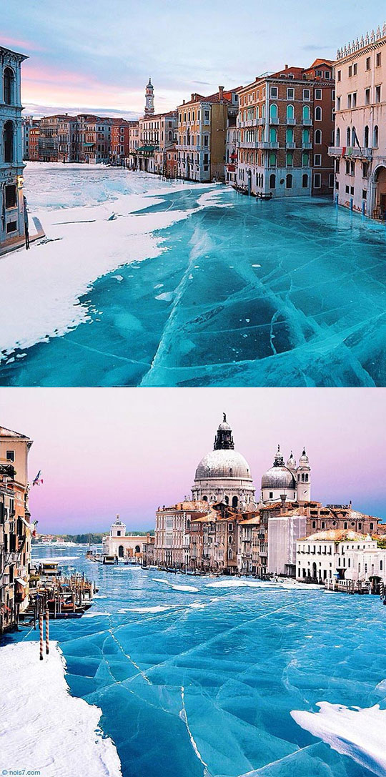 Frozen Venice The Beautiful