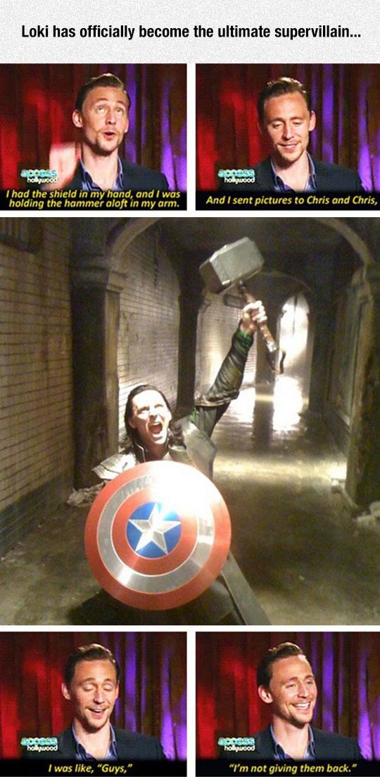 Loki, The Puny God