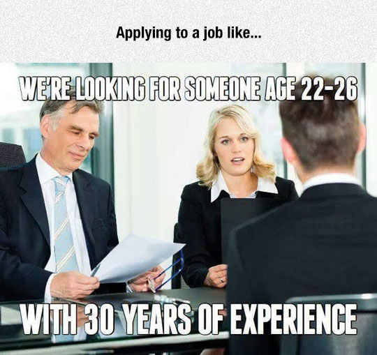Trying To Find A Job
