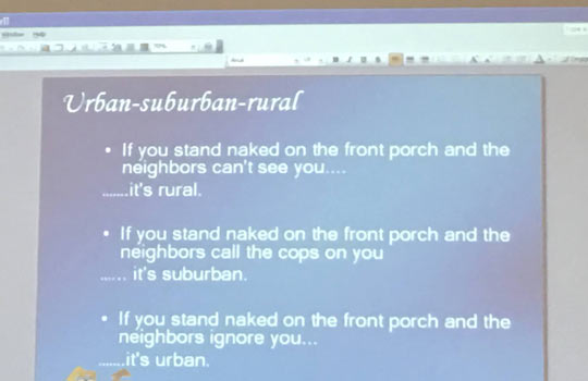 The Difference Between Urban, Suburban, And Rural