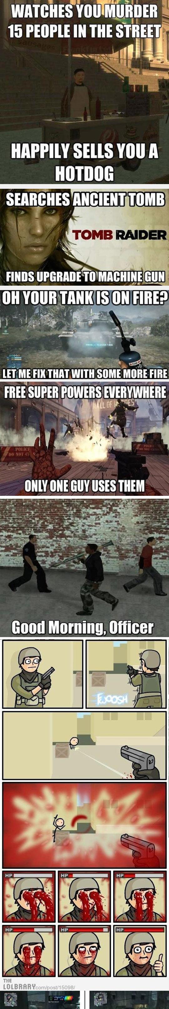 Video Game Sharp Logic