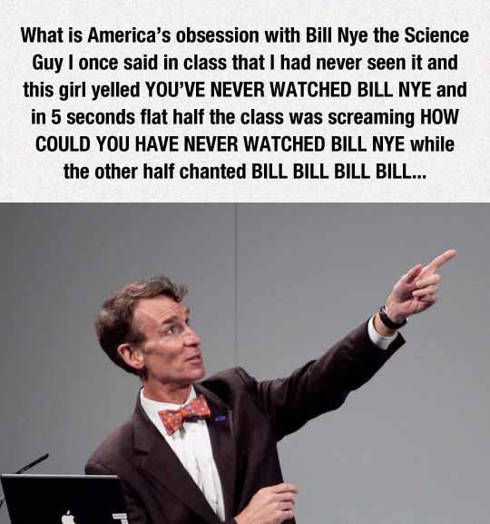 America's Obsession With Bill Nye