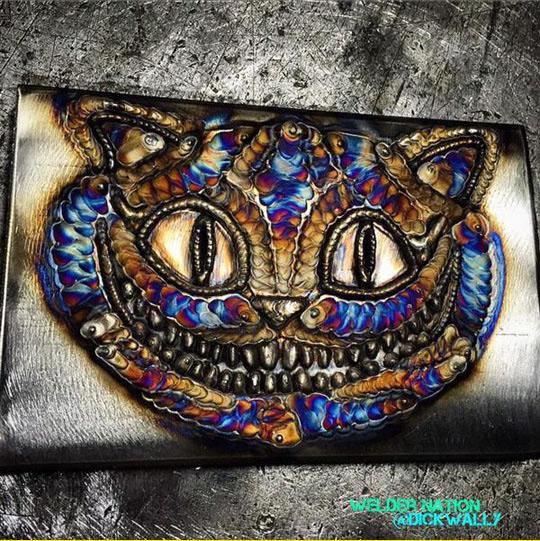 Cheshire Cat Weld