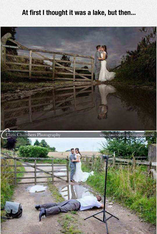 Clever Photographer