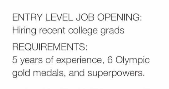 Entry Level Job Explained