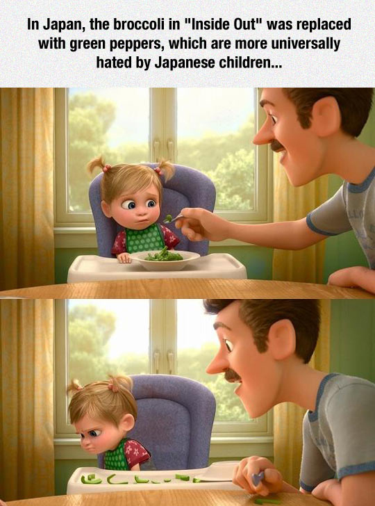 The Japanese Version Of Inside Out