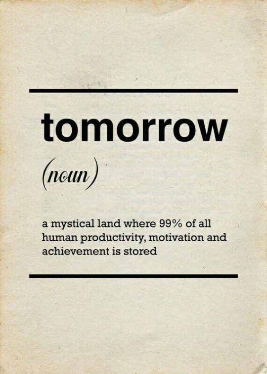 The True Meaning Of Tomorrow