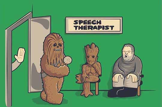 Tough Job For This Speech Therapist