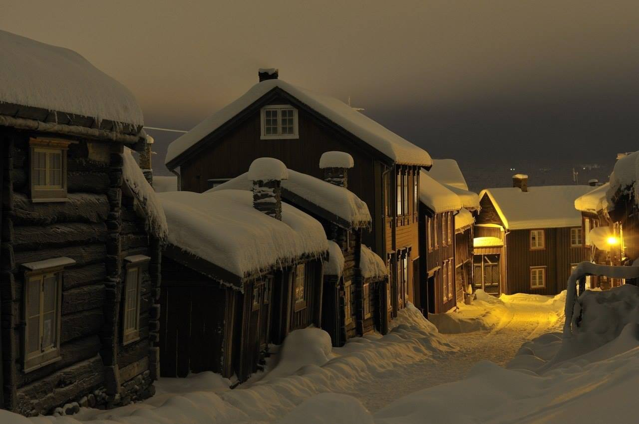 Winter Night in Norway