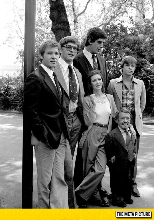 The Original Cast Of Star Wars