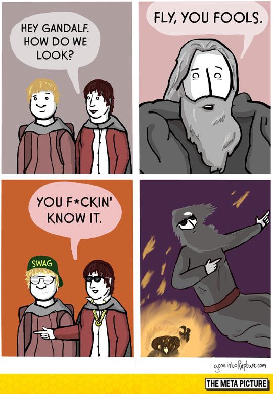 Gandalf Knows It