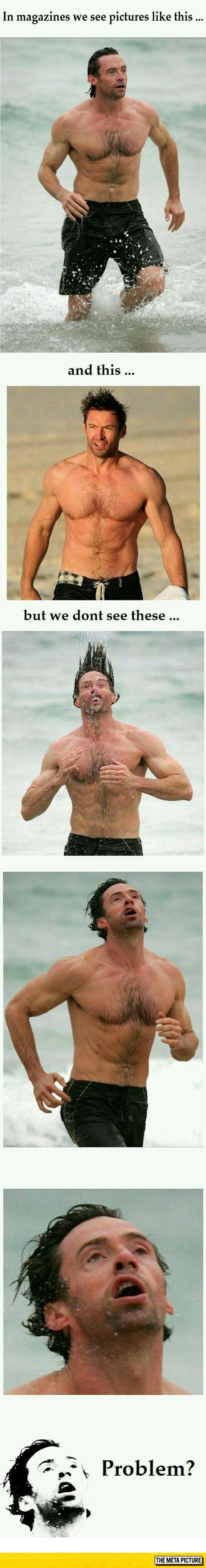 funny-Hugh-Jackman-face-beach