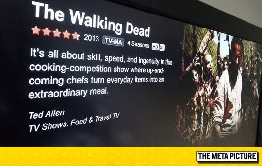 funny-Netflix-The-Walking-Dead-description