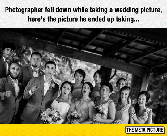 Unique Wedding Photograph