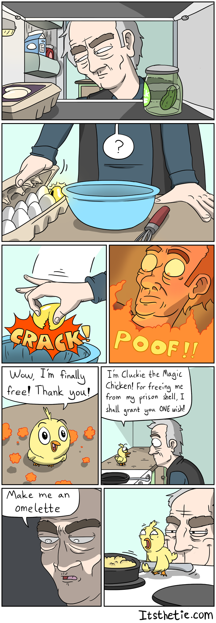 Cluckie the Magic Chicken