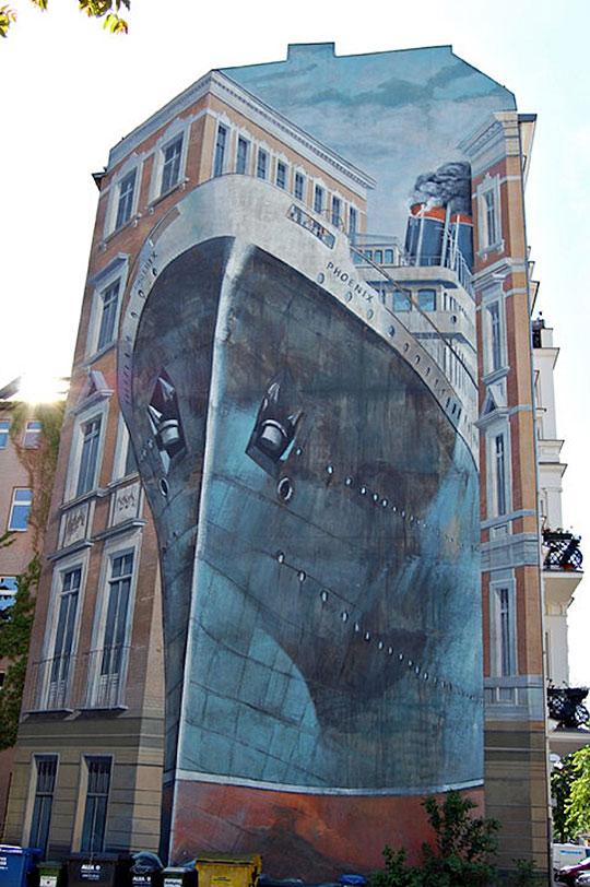 Amazing mural