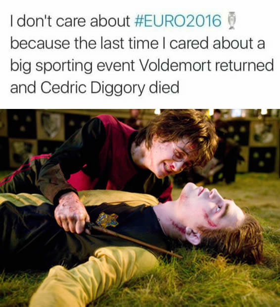 How geeky fans react to EURO2016