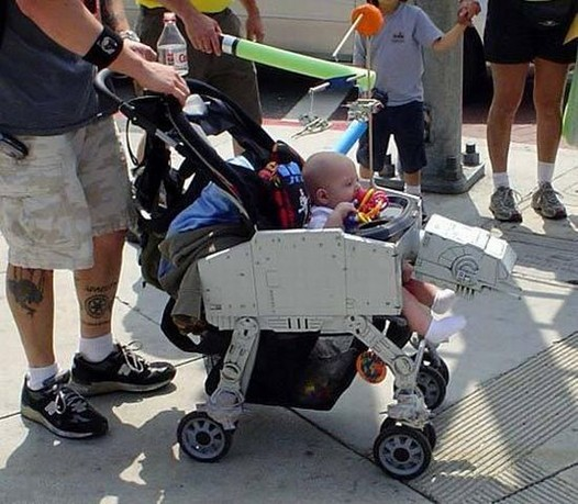 Star Wars Walker Stroller