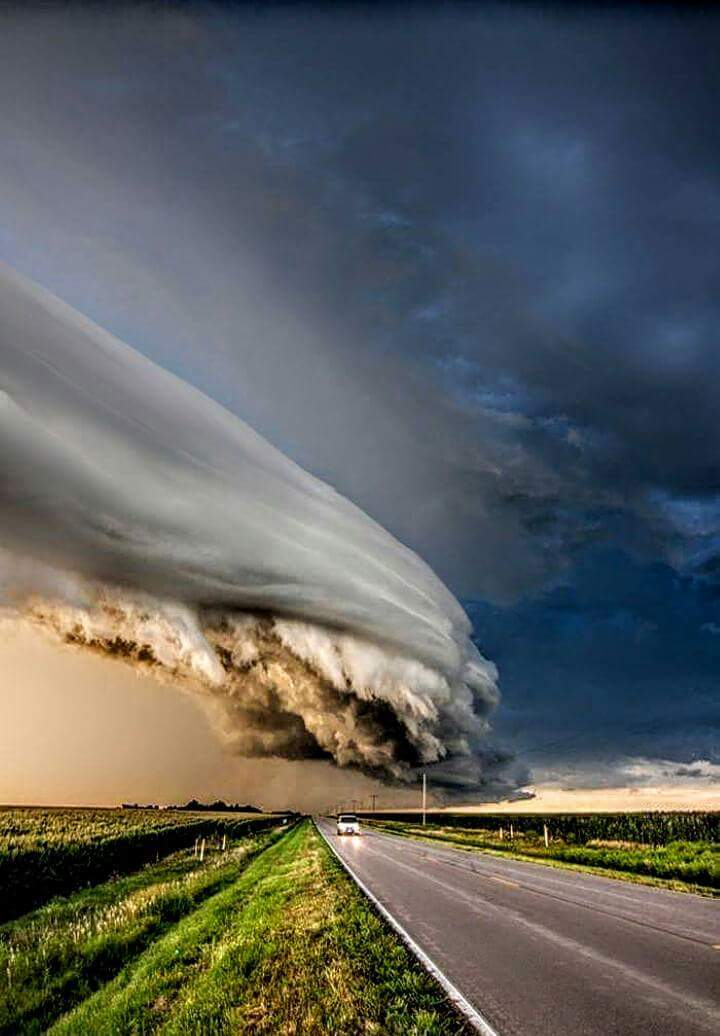 Storm outside my town. Beautiful and a bit terrifying.