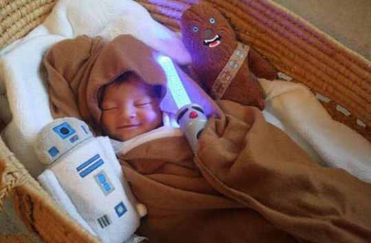 The Force Is Strong With This Little Guy's Dreams