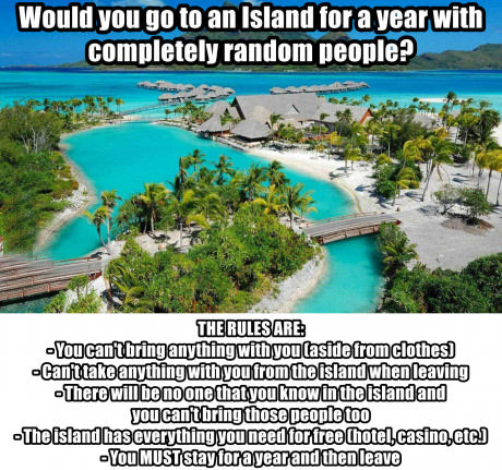 Would you go?