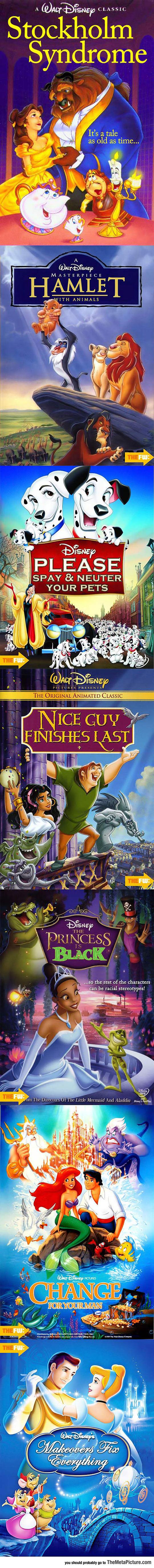 Alternate Disney Film Titles That Work Better