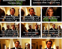 Probably The Best Scene From The West Wing