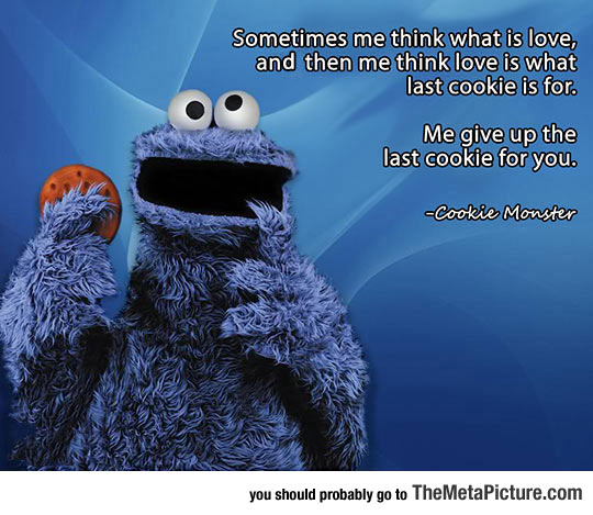 The Cookie Monster Is A Lot Deeper Than I Thought