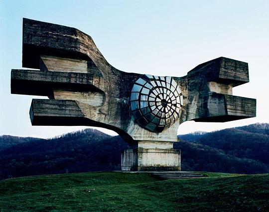 Abandoned Yugoslovian War Monument