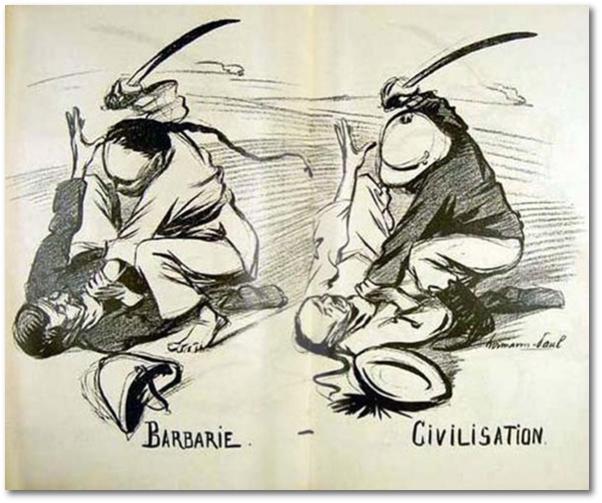 Barbarianism vs. Civilization, 1899