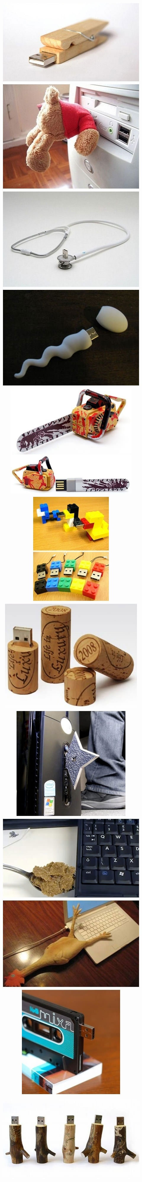 Creative USB flash drives