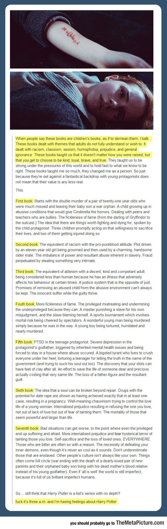 The Harry Potter Series And Its Meaning…