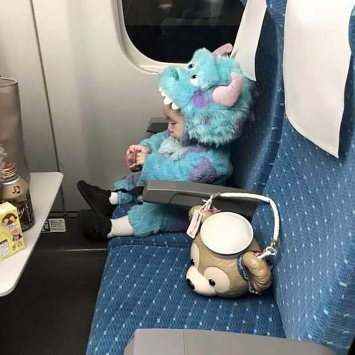 There's A Monster On The Flight