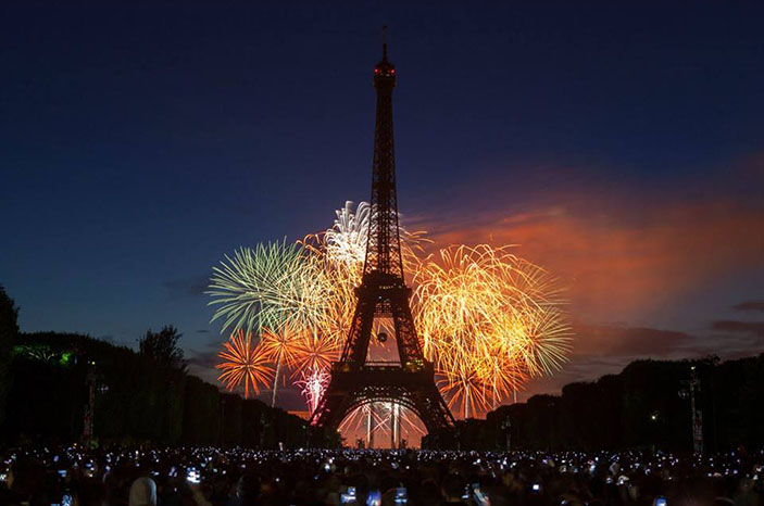 To all our friends in France, our hearts are with you